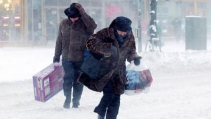 Heftiger Schneefall ist in Helsinki keine Besonderheit.
