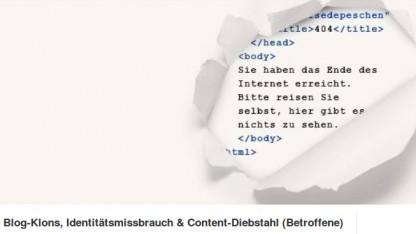 In einer Facebook-Gruppe tauschen sich Opfer des Content-Diebstahls aus.