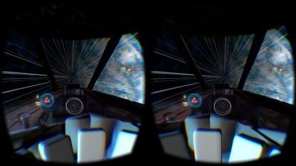 Darkfield auf dem Oculus Rift DK2