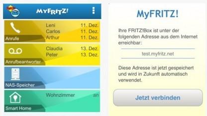 Die Fritzbox-App