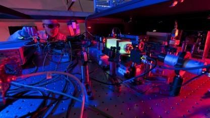 Blick in den Holometer: Vorstellungen über den Raum grundlegend ändern