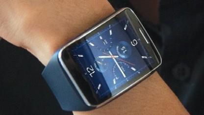 Das Zifferblatt der Samsung Gear S hat Samsung selbst entwickelt.