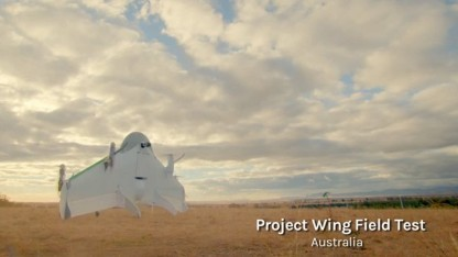 Googles Project Wing startet.