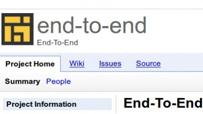 Google macht sich Gedanken über die Schlüsselverwaltung von End-to-End.