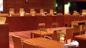 Der Sitzungssaal des EuGH