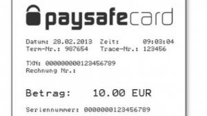 gibt es 10 euro paysafecard