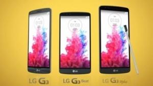 In einem Werbevideo zeigt LG das G3 Stylus, rechts im Bild.
