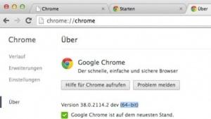 Chrome gibt es ab November nur noch in der 64-Bit-Variante für Mac OS X.