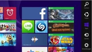 Die Charms-Bar soll im kommenden Windows 9 wegfallen.