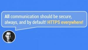 Google-Entwickler werben für HTTPS überall.