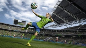 Eine der neuen, authentischeren Animationen in Fifa 15