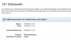 Kein Mailversand: Spamhaus listet Web.de, GMX und 1&1