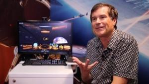 David Braben auf der Gamescom 2014