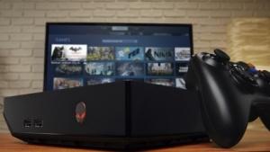 Alienware Alpha mit Steam im Big Picture Mode.