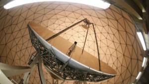 Parabolantenne in der früheren NSA-Abhöranlage in Bad Aibling