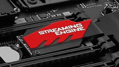 Eine eigene Streaming-CPU packt MSI aufs Board.