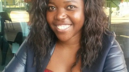 Südafrikanische App-Entwicklerin Hlulani Baloyi