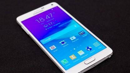 Samsung konnte in einem Monat 4,5 Millionen Galaxy Note 4 verkaufen.