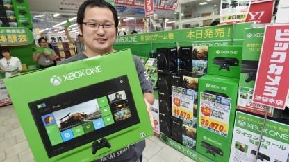 Ohne Warterei hat dieser Kunde seine Xbox One in Tokio bekommen.