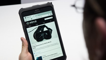 Samsungs neues Business-Tablet Galaxy Tab Active