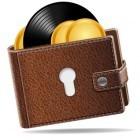 Sound Wallet: Private Schlüssel, auf Schallplatte gepresst