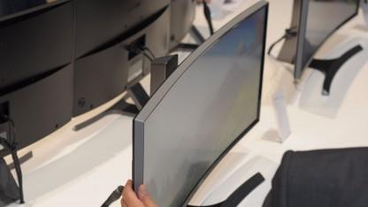 Samsungs PC-Monitor mit gebogenem 21:9-Panel