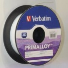 PLA, ABS und Primalloy: 3D-Druckermaterial und M-Discs von Verbatim