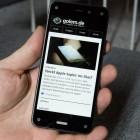 Amazons Fire Phone im Kurztest: Überzeugendes Bedienungskonzept und clevere Funktionen