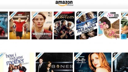 Amazon Instant Video auf einem Android-Tablet.