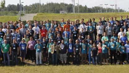 Ein Teil der KDE-Community auf der diesjährigen Akademy