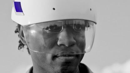 Daqri Smart Helmet: virtuelle Inhalte auf reale Gegenstände projizieren