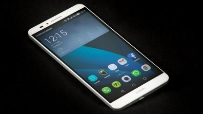 Huawei will weiterhin keine 1440p-Displays verbauen - wie auch beim Acend Mate 7.