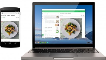 Android-Apps wie Evernote laufen auf Chromebooks.
