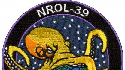 Das Emblem der NRO-Mission NROL-39
