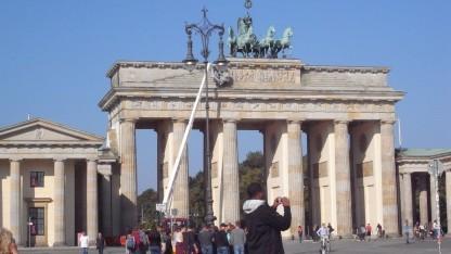 Viele Touristen, aber keine Imsi-Catcher im Berliner Regierungsviertel