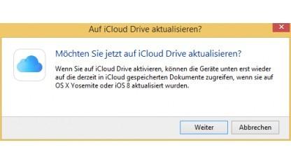 iCloud Drive für Windows