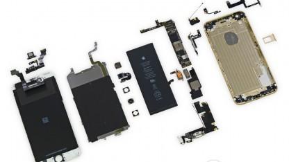 Das iPhone 6 Plus ist vergleichsweise leicht zu reparieren.