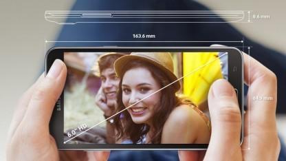 Samsungs neues Galaxy Mega 2