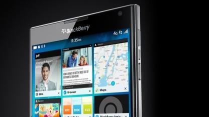 Das Blackberry Passport soll am 24. September vorgestellt werden.