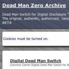 Dead Man Zone: Totmannschalter im Darkweb