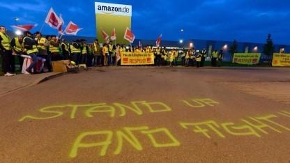 Streiks bei Amazon im September zielten schon auf das Weihnachtsgeschäft.