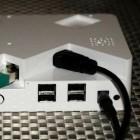 Plusberry Pi: Raspberry-Pi-Gehäuse mit SATA-Erweiterung