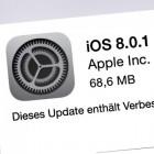 Apple: iOS 8.0.1 wieder zurückgezogen
