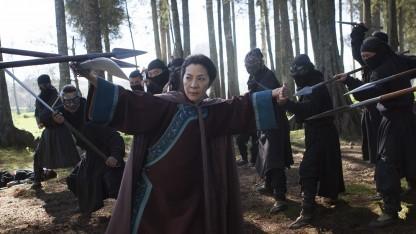 Michelle Yeoh bei den Dreharbeiten des neuen Films