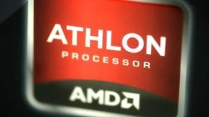 Detailaufnahme einer Athlon-Verpackung