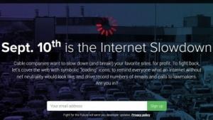Am 10. September wollen Netzaktivisten gegen die Aufweichung der Netzneutralität protestieren.