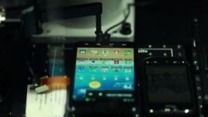 T-Mobiles Testroboter Tappy im Einsatz