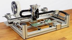 Prototyp der Bestückungsmaschine