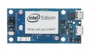 Intel Edison mit kleinem Breakout-Board