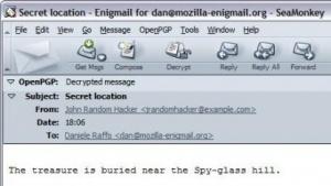 In Enigmail wurden E-Mails an BCC-Empfänger nicht verschlüsselt.